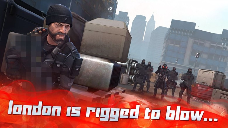 Developers are having to blur guns from App Store screenshots. Photo: Touch Arcade