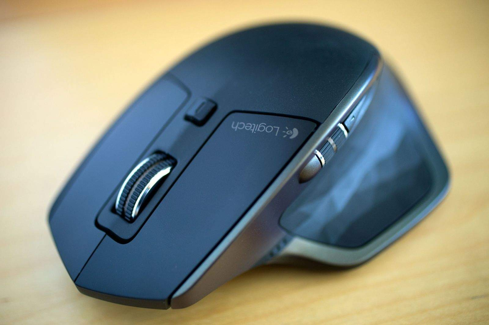 The top of the Logitech MX Master mouse.