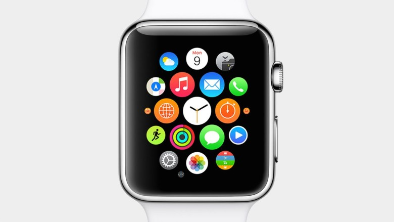 Apple Watch isn't being too closely, err, watched. Photo: Apple