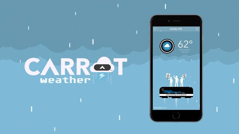 There's a Sharknado up in here! Photo: CARROT Weather