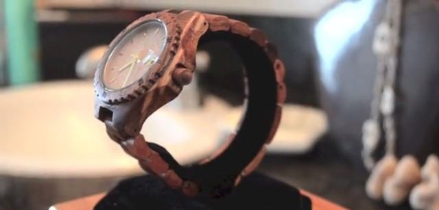 The Kupuna is made of beautiful koa wood. Photo: AINA Jewelry