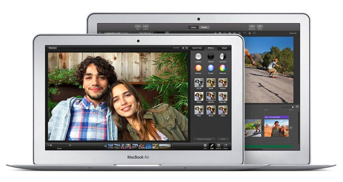The new MacBook Air has more graphics power than it appears at first. Photo: Apple