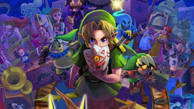 Nintendo likes to port older games to the 3DS, including Majora's Mask, which is one of the best games in the Legend of Zelda series. Photo: Nintendo