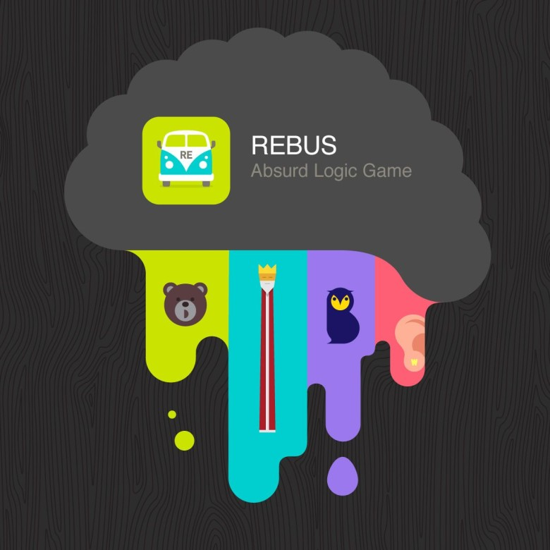New iOS game REBUS will get your brain firing on all cylinders. Photo: Jutiful