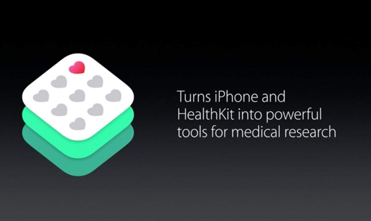 ResearchKit could transform the way we gather large scale clinical datasets. Photo: Apple