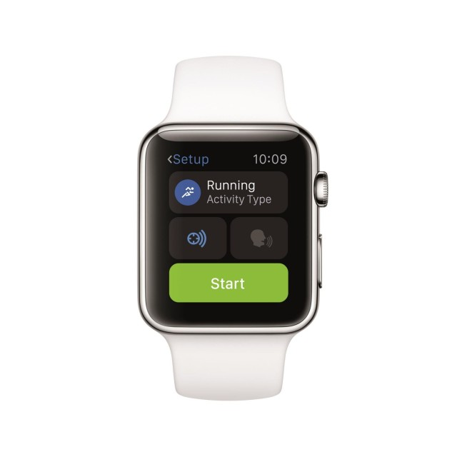 Runtastic Apple Watch App - Web
