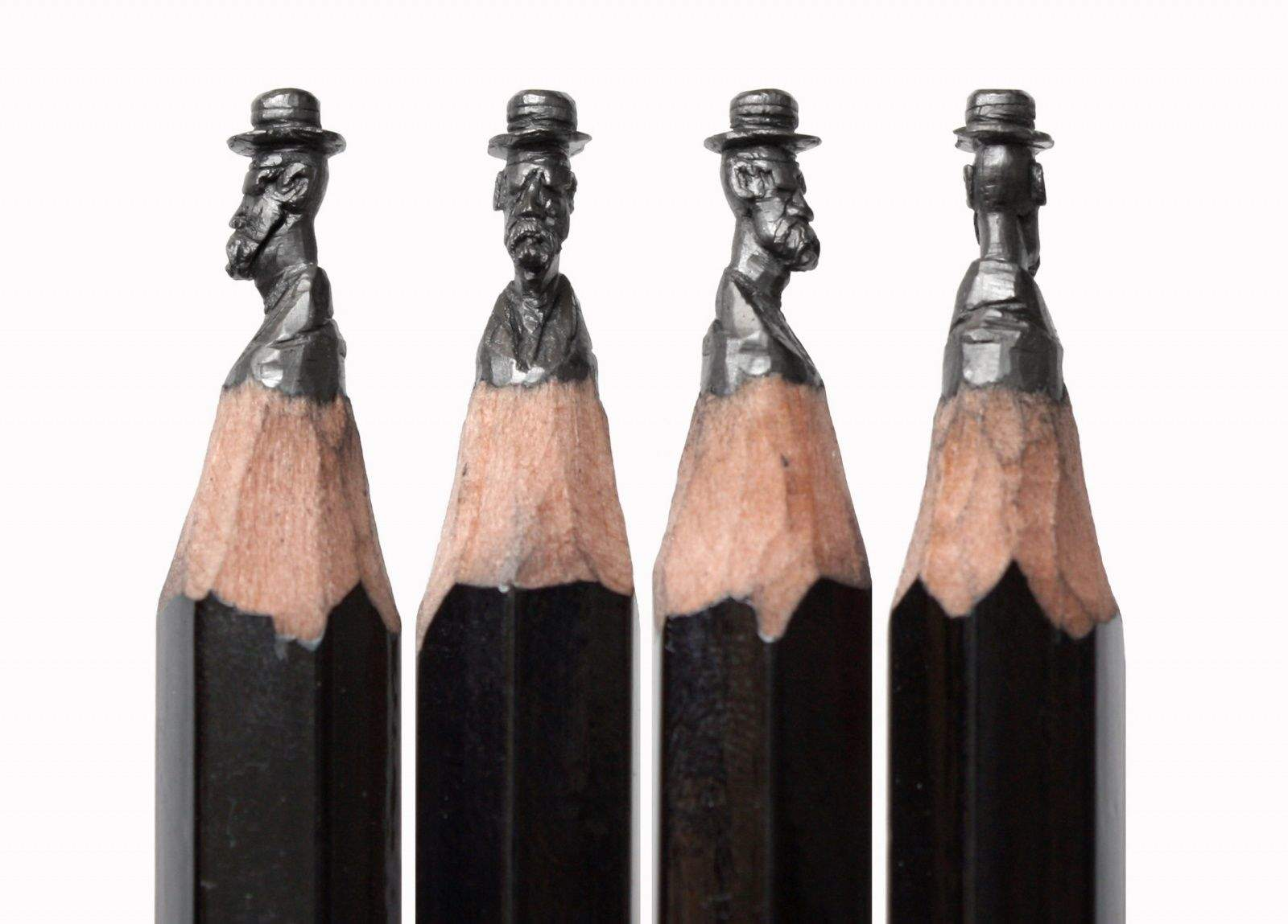 Pencil artist works in miniature and that s the point