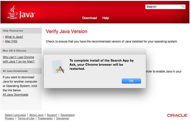 Oracle Java is now installing adware on Macs
