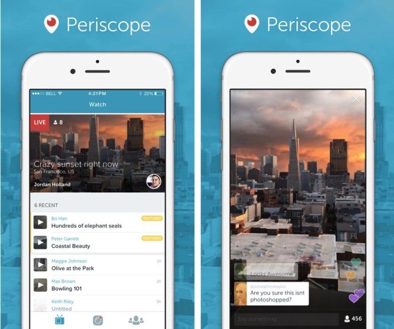 Periscope was one of the best new apps of the year.