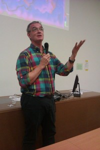 Stephen Friend at a lecture in 2013. Photo: Wikipedia