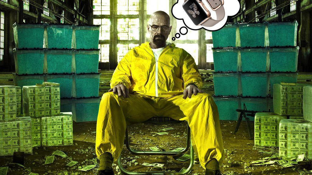 Is the Apple Watch a good enough reason for breaking bad? Photo: HBO/Cult of Mac