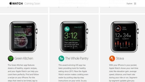 The Whole Pantry app is no longer coming soon. Photo: Apple