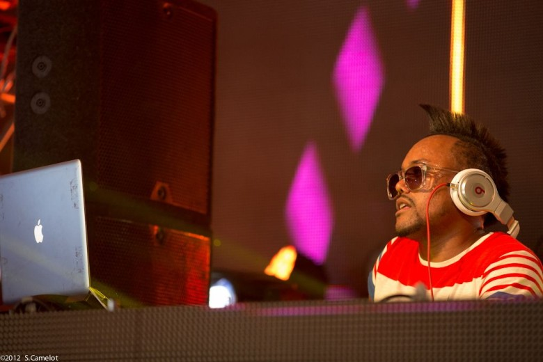 The Black Eyed Peas co-founder apl.de.ap relies heavily on Apple gear. Photo: Sebastien Camelot/Flickr CC