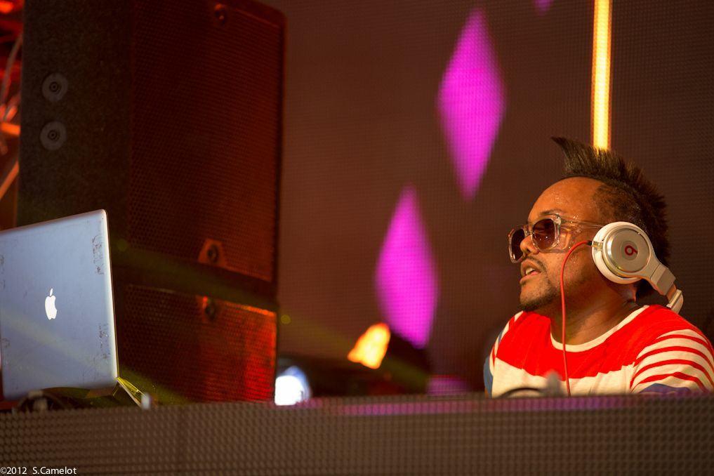 The Black Eyed Peas co-founder apl.de.ap relies heavily on Apple gear. Photo: Sebastien Camelot/Flickr CC