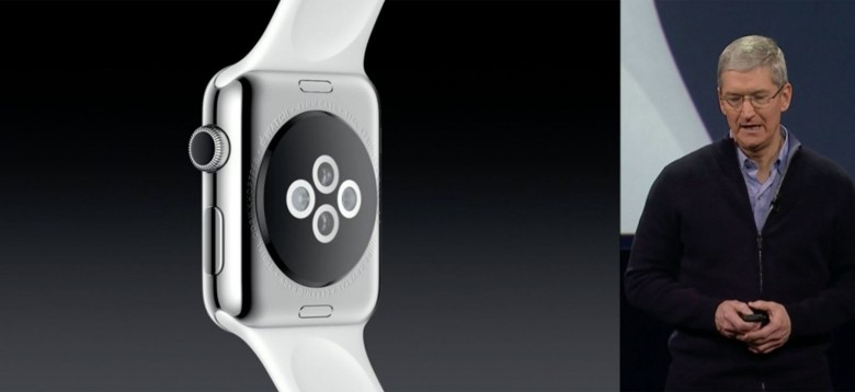 Only the sticker shock mattered. Photo: Apple