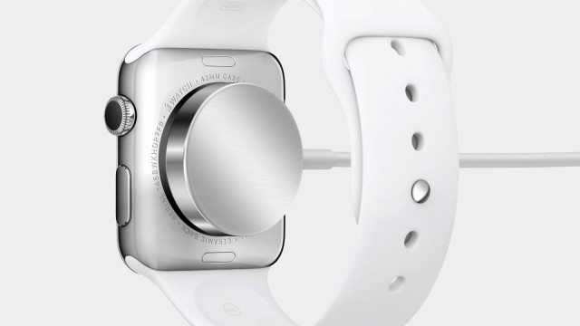 Apple Watch charging cable. Photo: Apple