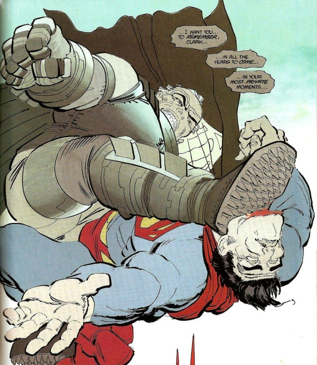 Being the Last Son of Krypton? That's a paddlin' Photo: DC Comics