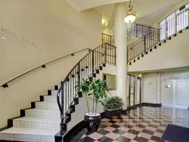This beautiful foyer leads to an Apple Store. Photo: Gary Allen