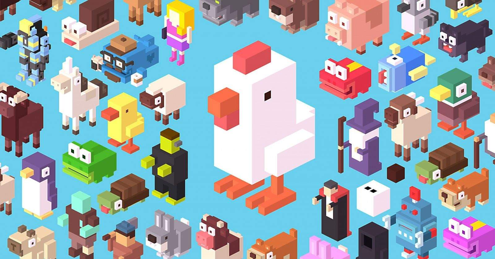 Who (and what) will make it across Crossy Road? Photo: Hipster Whale