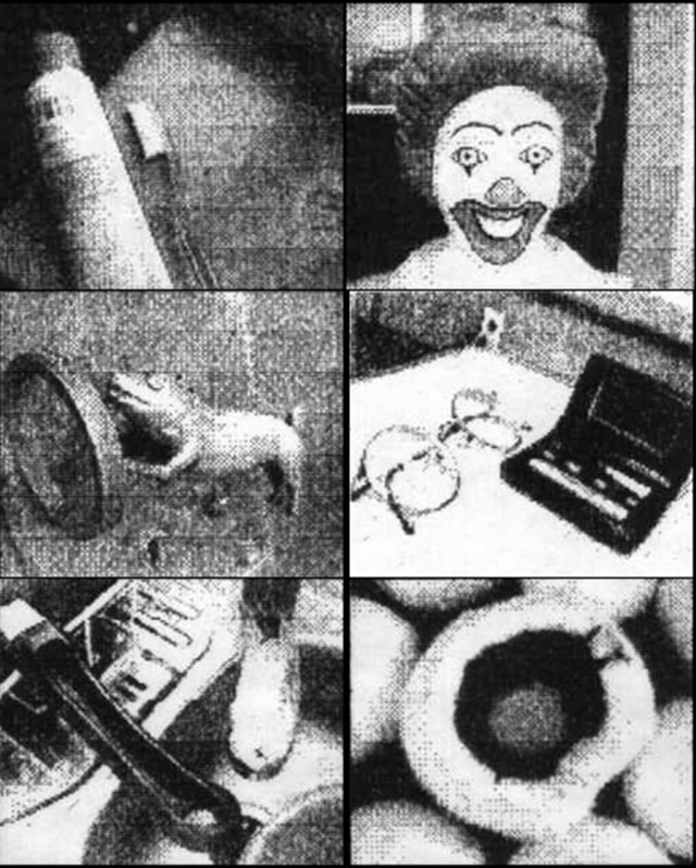 Various objects shot with a Game Boy camera. Photo: Paul Houle/tapir.org