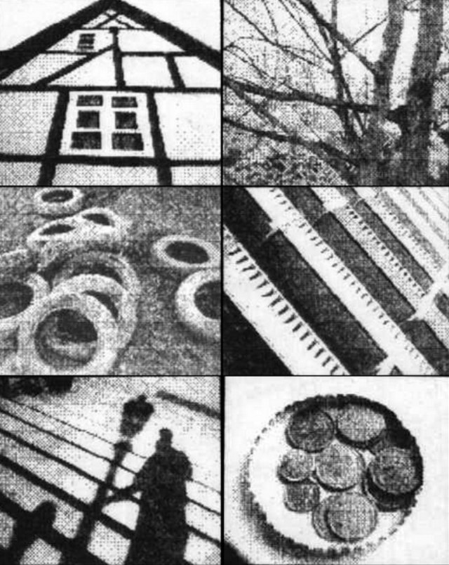 Shapes and lines standout in the contrasty pictures made with the Game Boy camera. Photo: Paul Houle/ tapir.org