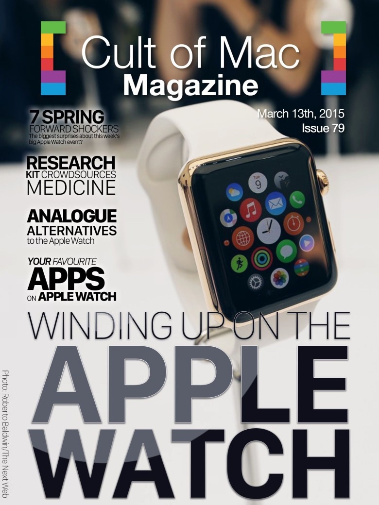 It's been an Apple Watch kind of week, right? Cover Design: Stephen Smith