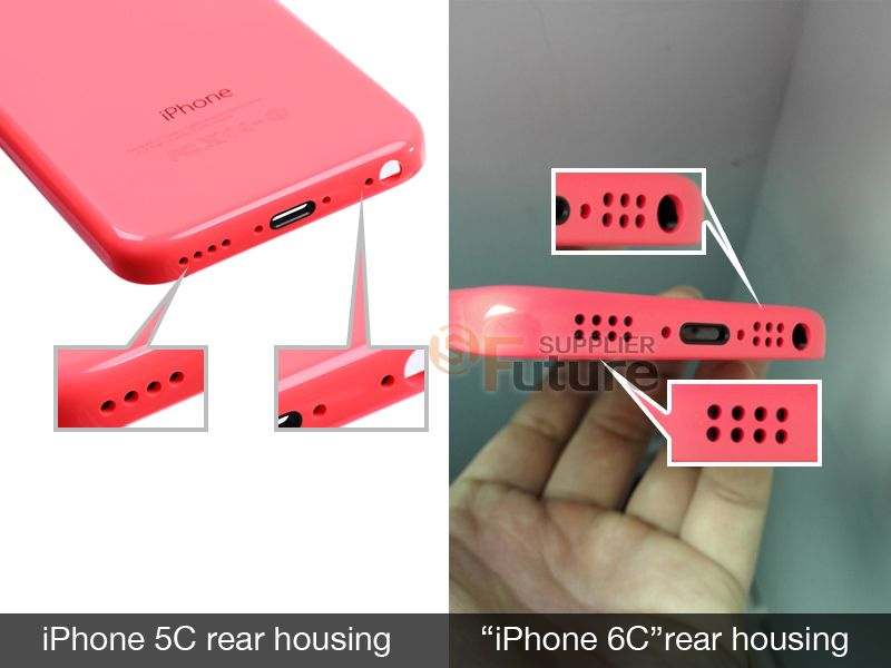 Iphone 6c Colors Rear Housing 2