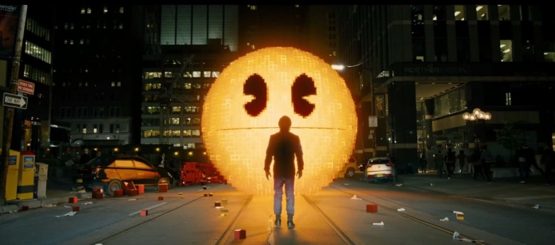 Pac-Man is NOT a bad guy, says the Professor. Photo: Columbia Pictures