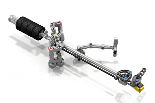 The tonearm has Lego wheels as counterweights. Photo: LoctiteGirl/Flickr CC