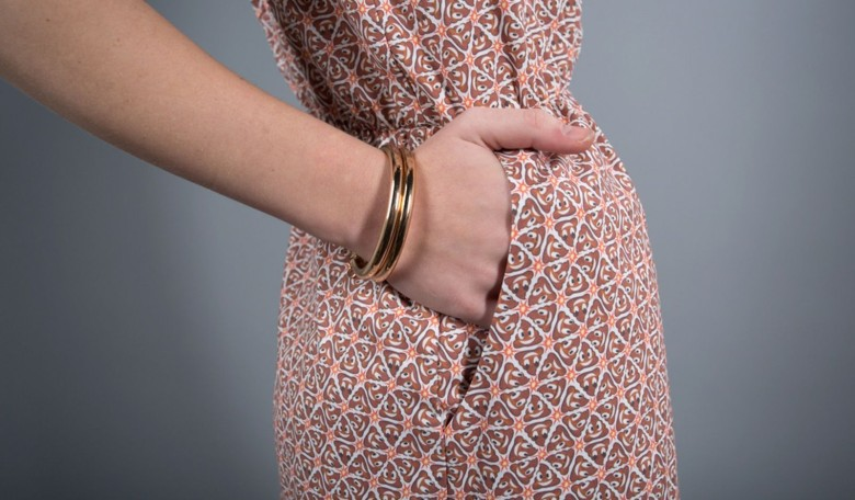 Betabrand latest piece of clothing featuring the Poo Emoji is this pocket dress. Photo: Betabrand