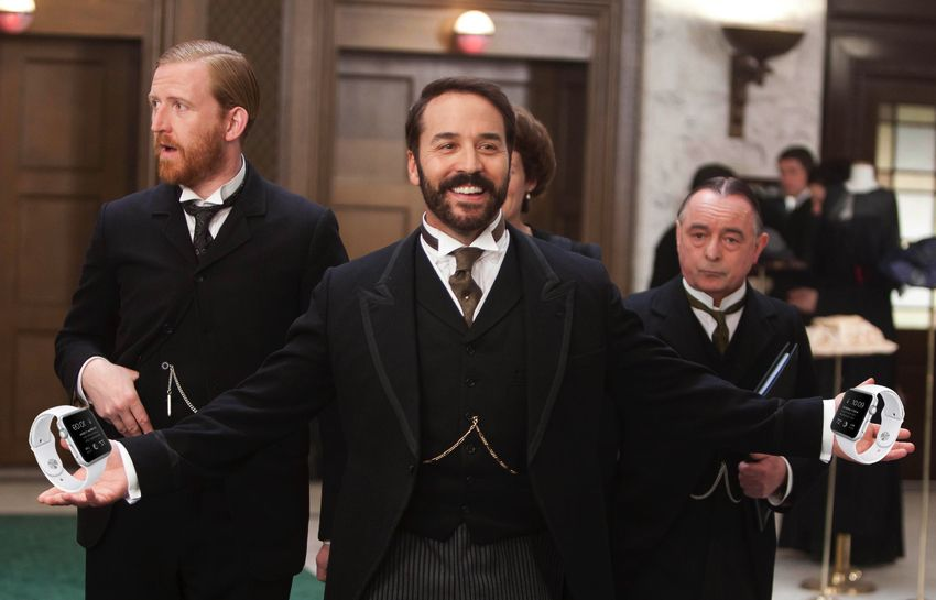 Mr. Selfridge will be selling Apple Watches. Photo: Cult of Mac/ITV
