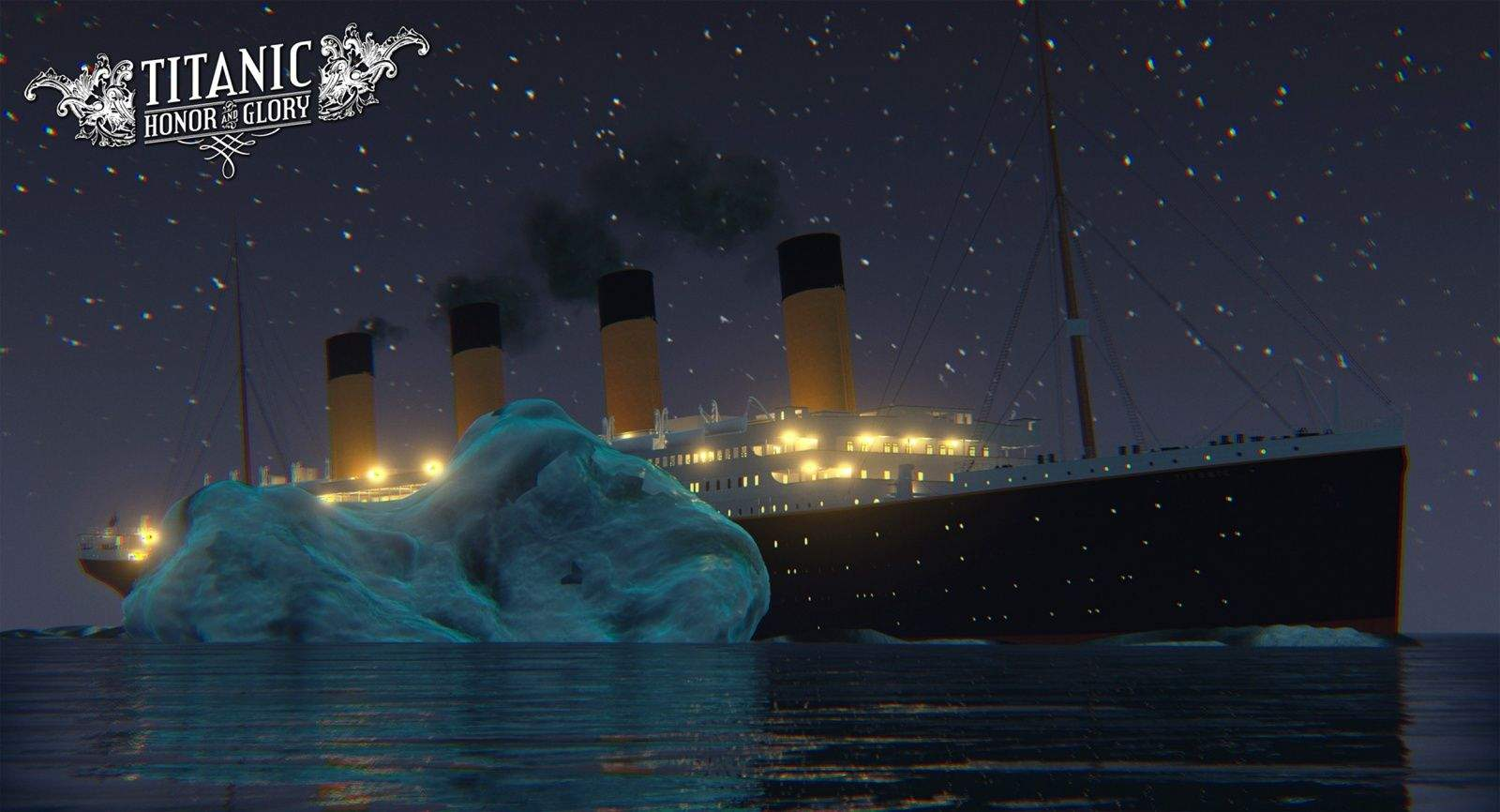 Titanic: Honor and Glory is a game under development that would take players through the full five days of the luxury liners tragic journey. Photo: Four Funnels Entertainment