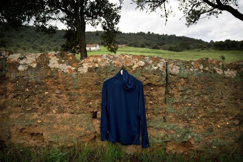 super.natural Base 1/4 Zip 175 long-sleeve jersey