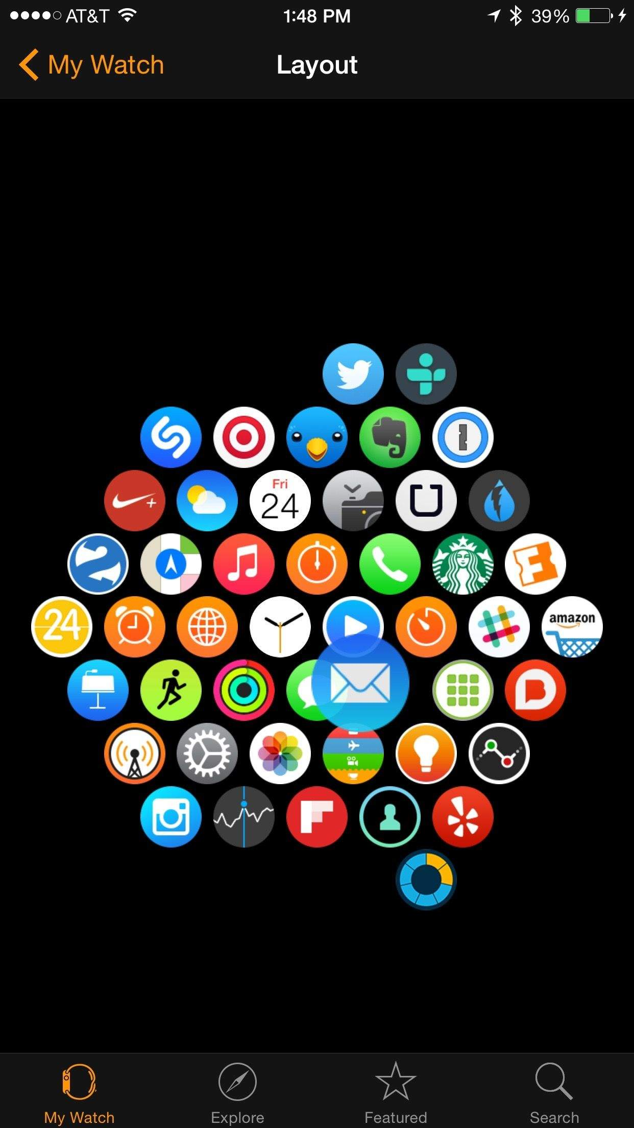 Home Layout App organize apps on your apple watch home screen | cult of mac