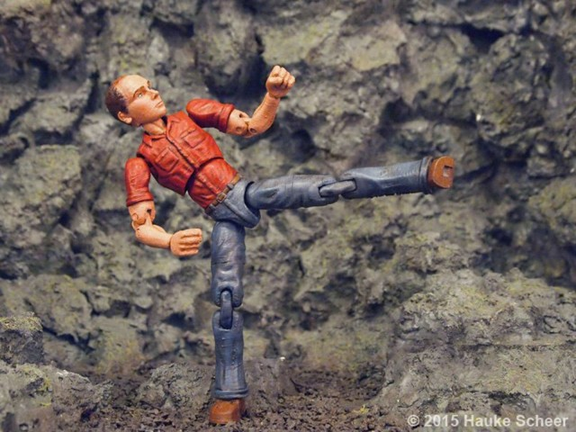 The artist as a fully articulated action figure. Photo: Hauke Scheer