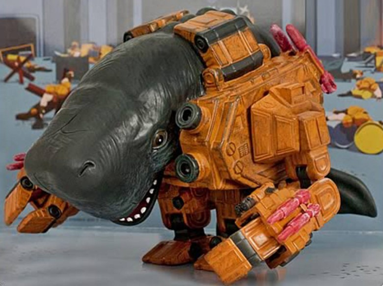 Mechawhales are the creation of 3D artist Hauke Scheer. Photo: Hauke Scheer