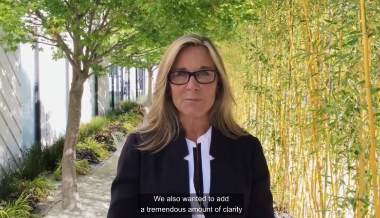 Apple's retail chief sends out a video message to help prep employees for this Friday. Photo: Apple