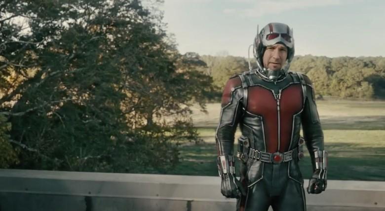 Rudd looks a bit skeptical. Photo: Marvel Studios