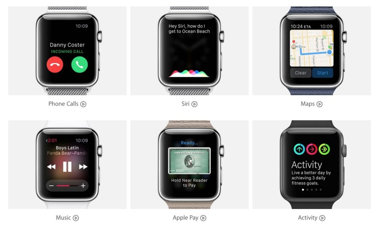 The Guided Tour videos are a great way to get to know the Apple Watch. Photo: Apple