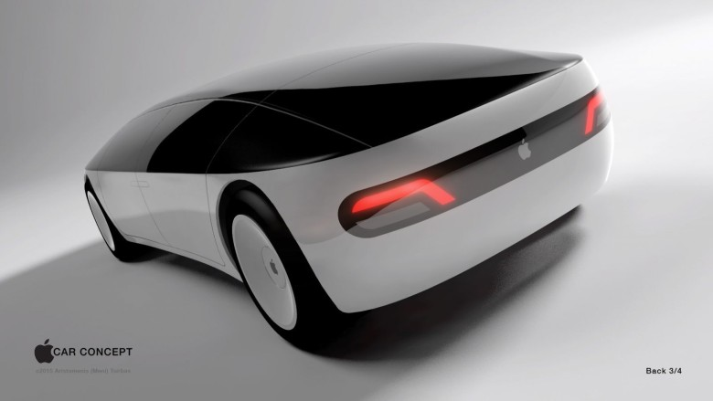 Apple car concept art shows what Cupertino might put on the road.