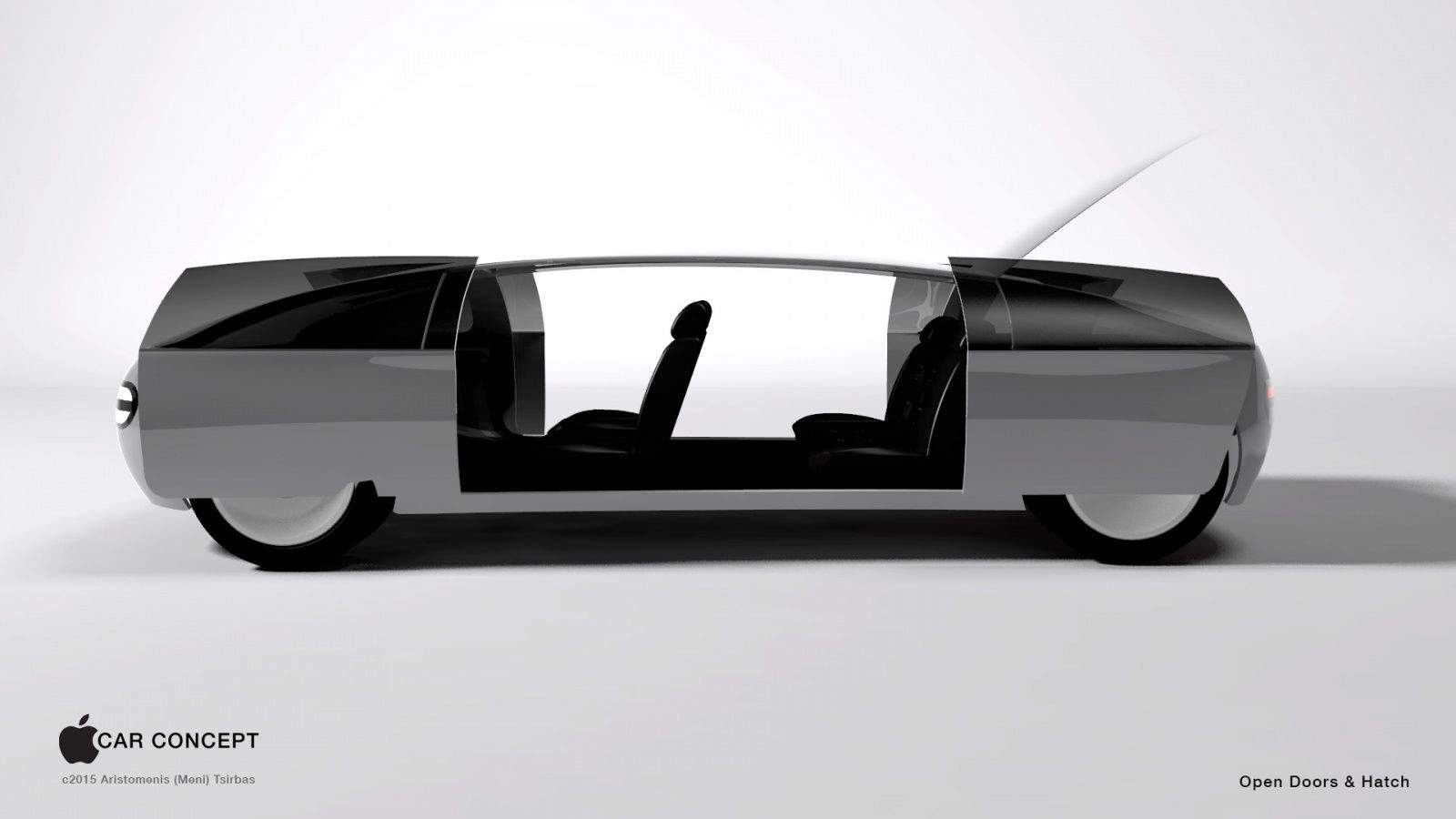Apple car concept art side doors