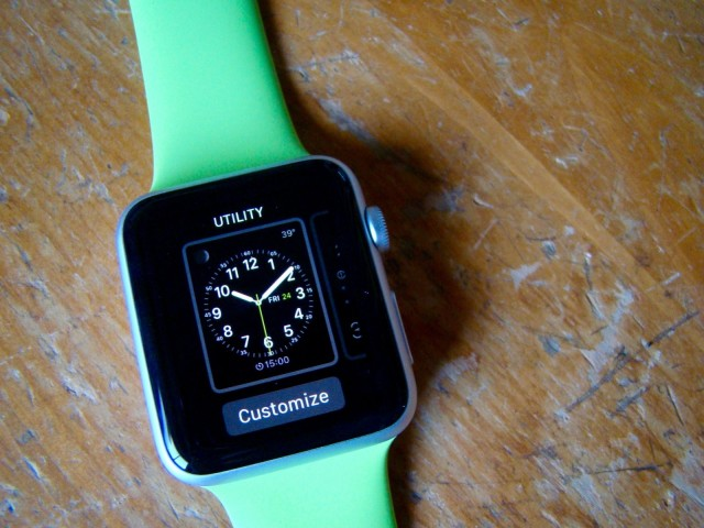 There's a lot of utility in this watch face. Photo: Rob LeFebvre/Cult of Mac