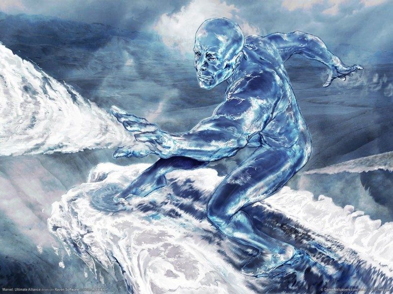The Iceman cometh... out. Photo: Marvel Comics
