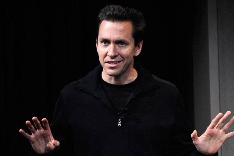 Forstall presenting at an Apple event back in the day.