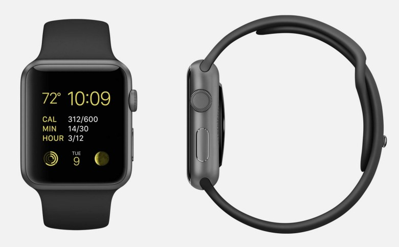 There's a 64% chance that if you bought an Apple Watch Sport, this is the one you got. Photo: Apple