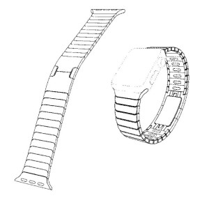 "Each Link Bracelet takes ""nearly 9 hours to complete."" Photo: USPTO"