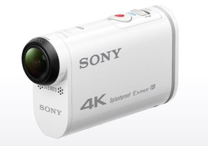 Sony's 4K Action Cam delivers high-quality video and audio. Photo: Sony