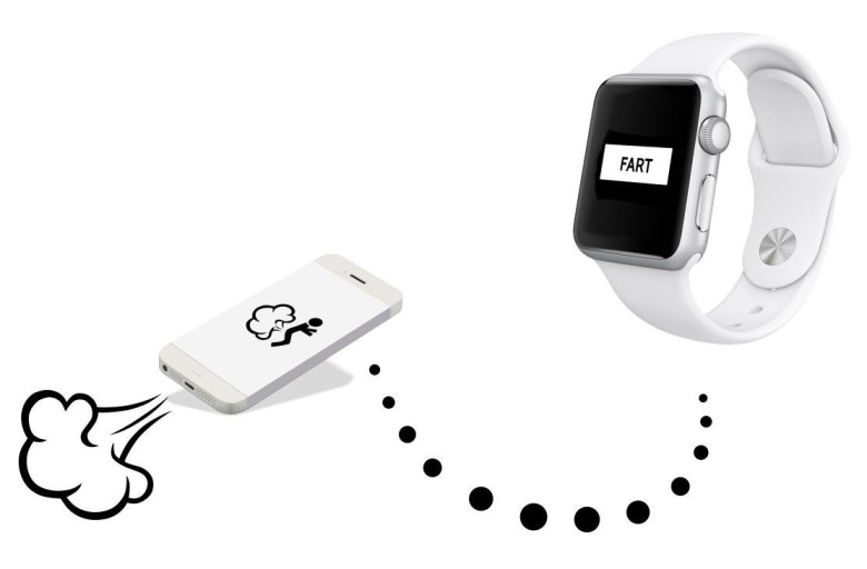 Apple doesn't want fart apps on the Apple Watch. Who knew? Photo: Fart Watch