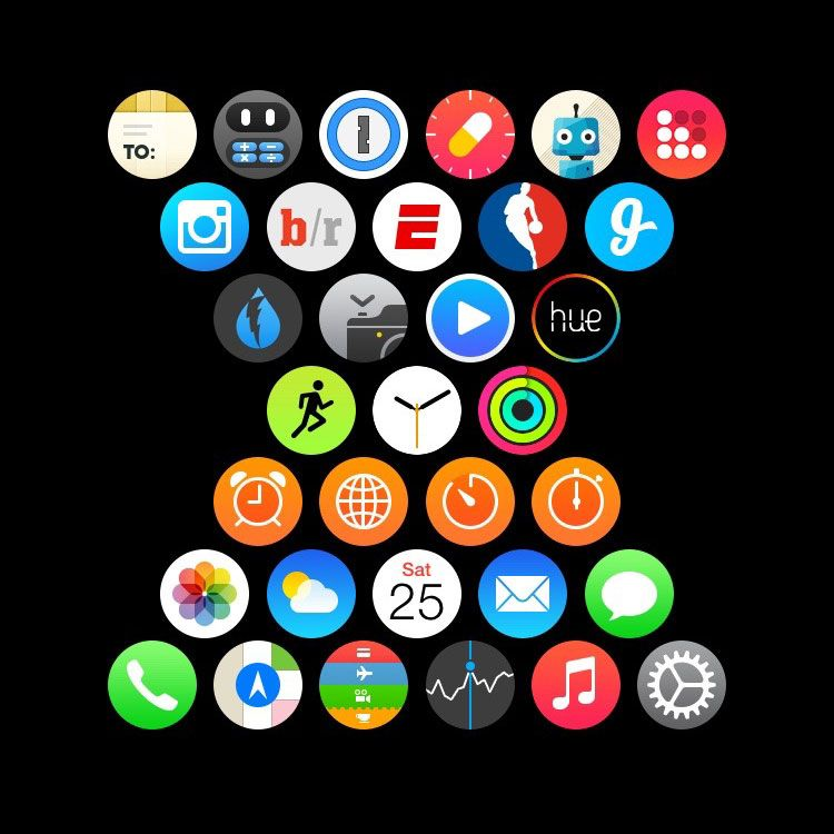Home Layout App apple watch users show off their creativity with custom app