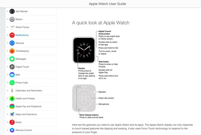 Apple Watch User Guide. Photo: Apple